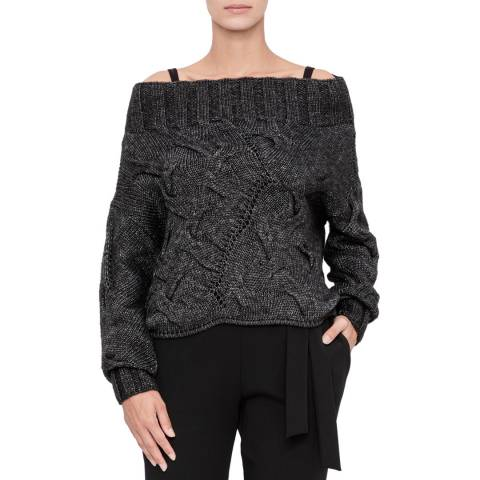 SARAH PACINI Asymmetric short sweater