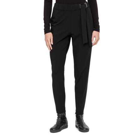 SARAH PACINI Wool pants – drawstring belt