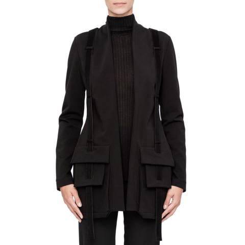 SARAH PACINI Asymmetric jacket – pouch pockets