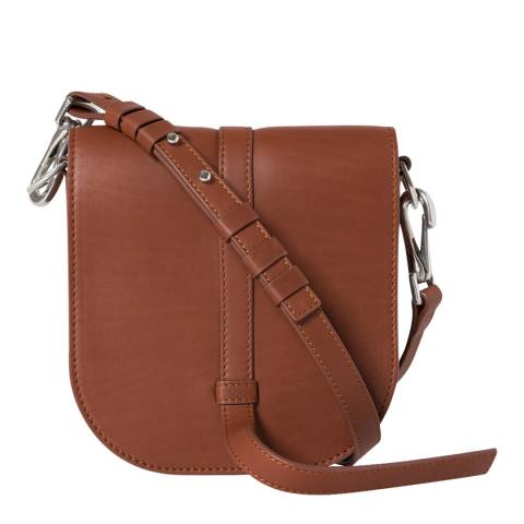 PAUL SMITH Tan Smooth Mini Satchel