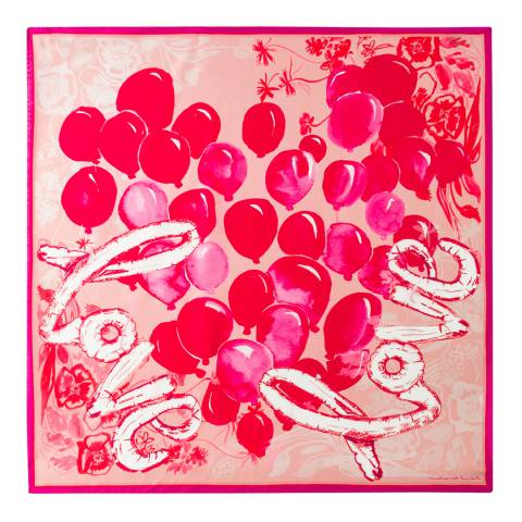 PAUL SMITH Red Valentine Scarf