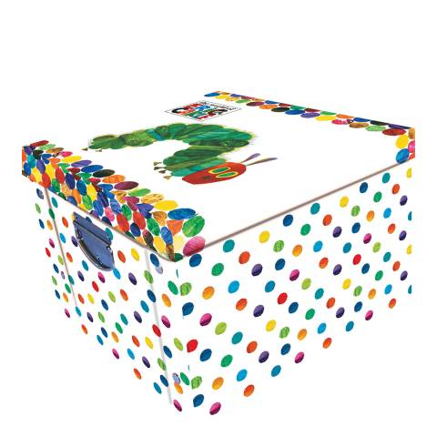 Eric Carle Very Hungry Caterpillar Collapsible Storage Box