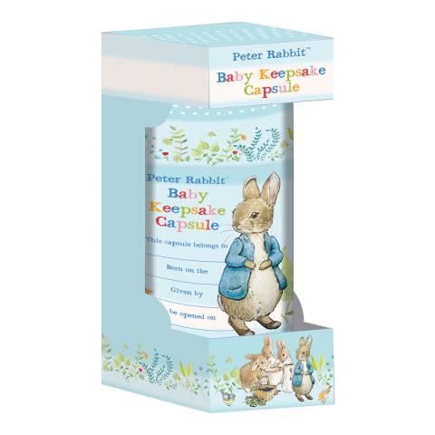 Peter Rabbit Baby Keepsake Capsule Tube