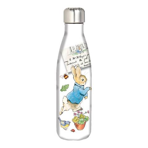 Peter Rabbit Pin Up White Hydration Bottle