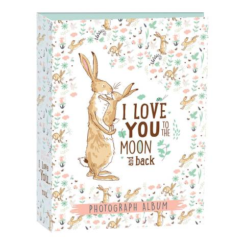 Guess How Much I Love You Portrait Photo Album