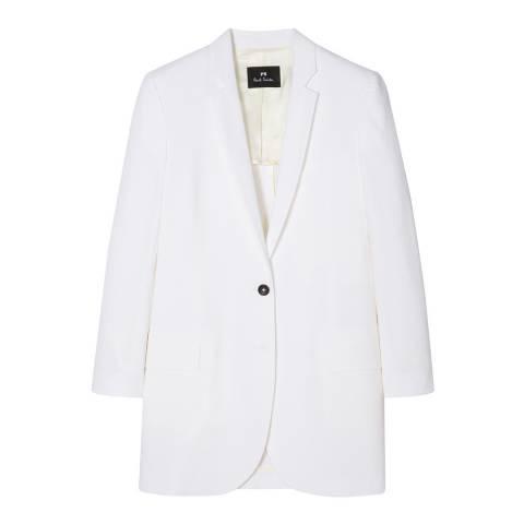 PAUL SMITH White Tailored Jacket