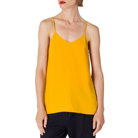 PAUL SMITH Mustard Silk Blend Vest