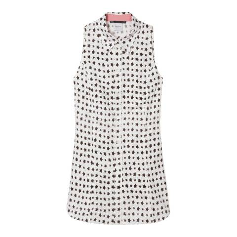 PAUL SMITH White Star Sleeveless Shirt
