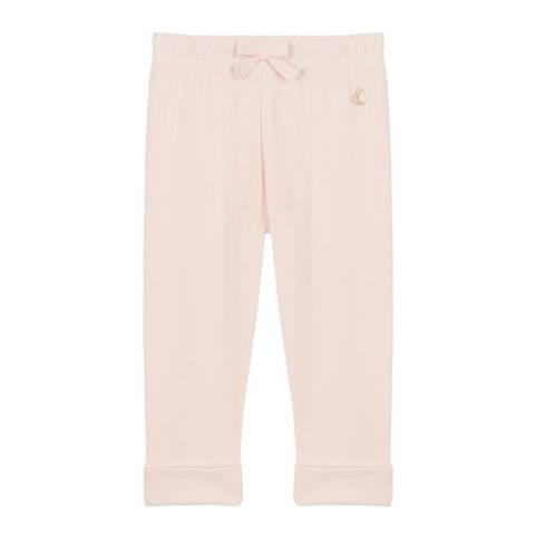 Petit Bateau Baby Girl's Plain Knit Trousers
