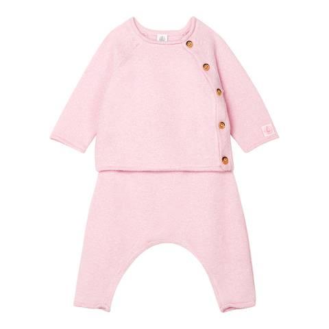 Petit Bateau Girl's Pink 2-Piece Set