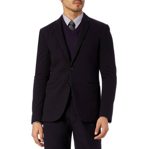 PAUL SMITH Navy Buggy Lined Cotton Jacket