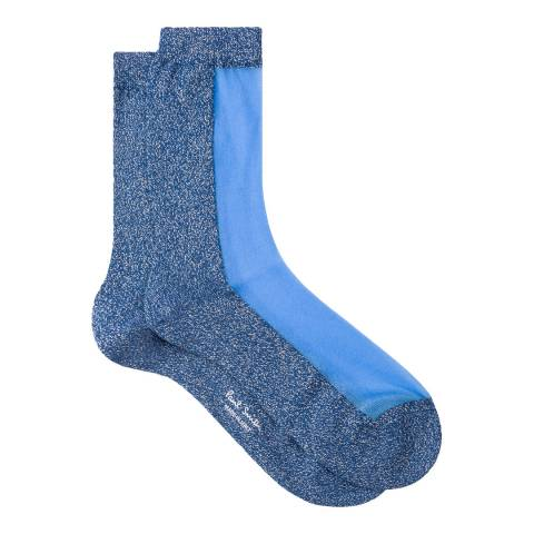 PAUL SMITH Blue Jules Socks