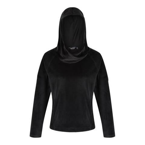 Regatta Black Kelilah Hooded Fleece