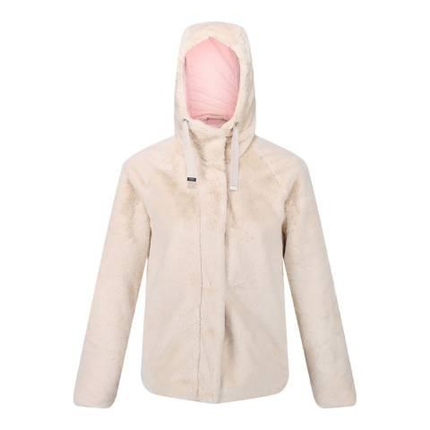 Regatta Cream Haddie Faux Fur Jacket