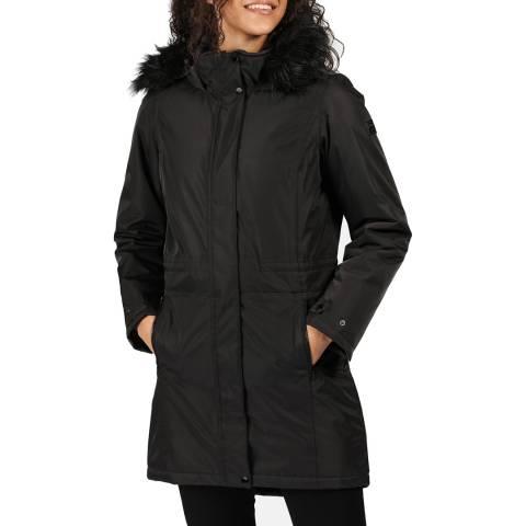 Regatta Black Waterproof Parka Jacket