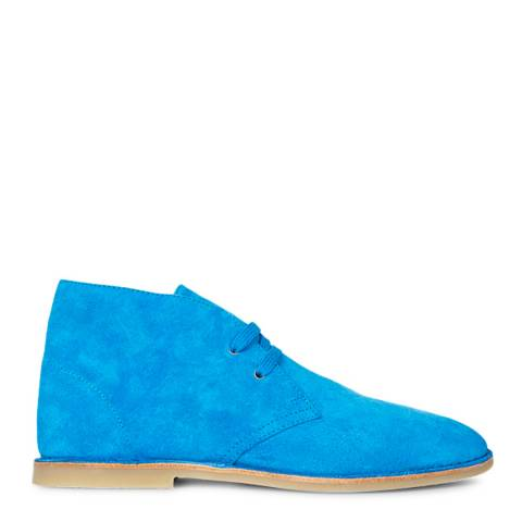 PAUL SMITH Blue Norman Suede Desert Boot
