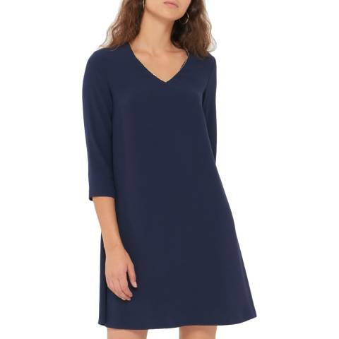 Gerard Darel Blue Alicia Dress