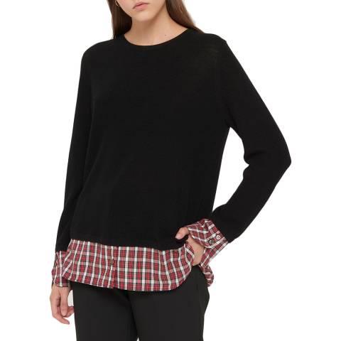 Gerard Darel Black Wool Blend Coralie Jumper