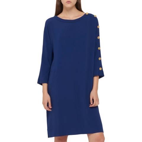 Gerard Darel Blue Anas Dress