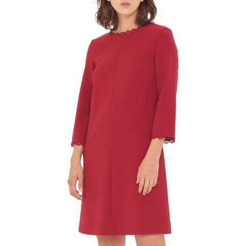 Gerard Darel Red Amaya Dress
