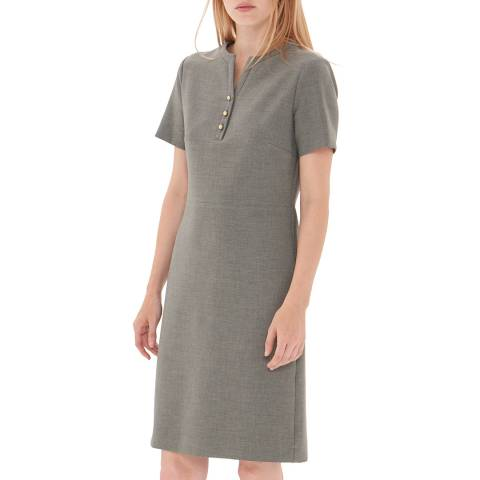 Gerard Darel Grey Aymeline Dress