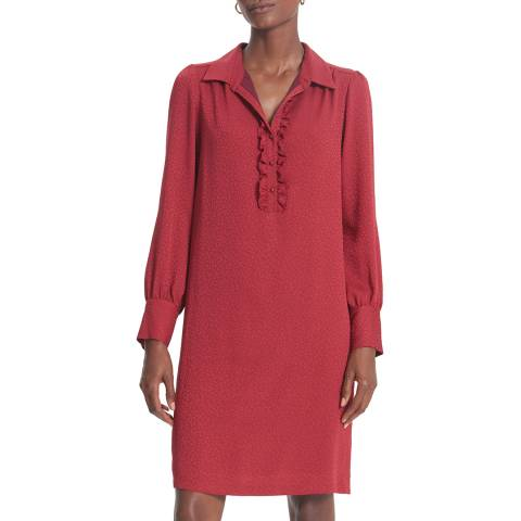 Gerard Darel Red Della Dress