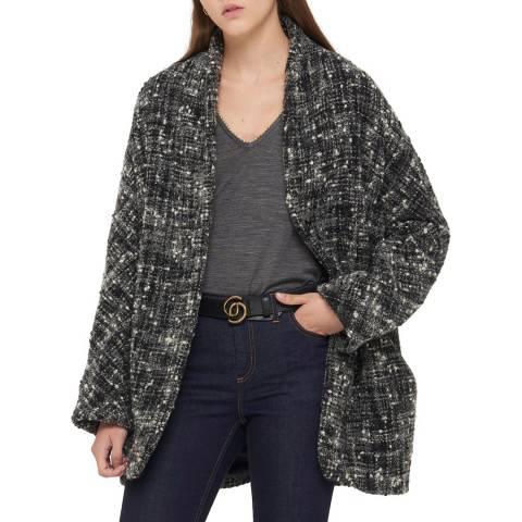 Gerard Darel Grey Wool Blend Marley Coat