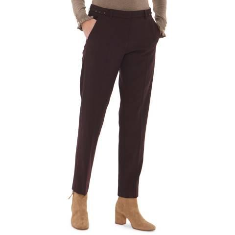 Gerard Darel Black Wool Blend Ginger Trousers