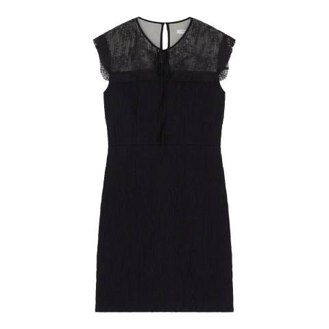 Gerard Darel Black Sleeveless Abby Dress