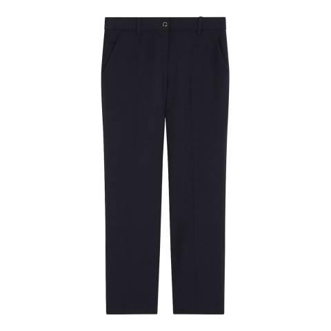 Gerard Darel Black Wool Sabrina Stretch Trouser