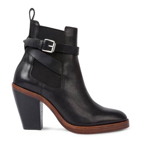 PAUL SMITH Black Bexley Leather Boot