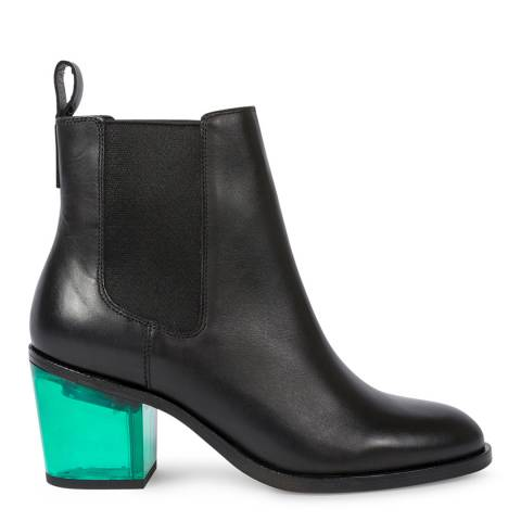 PAUL SMITH Black Shelby Leather Boot