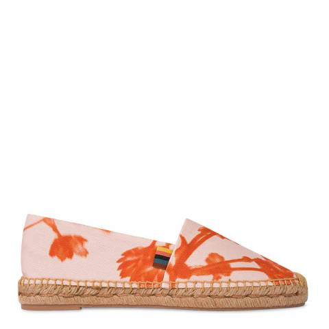 PAUL SMITH Pink Sunny Suede Espadrille