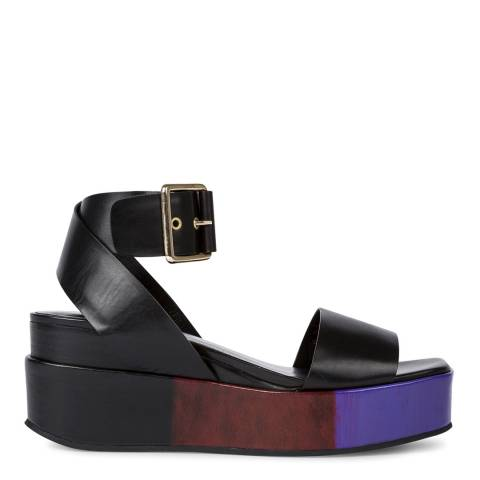 PAUL SMITH Black Janis Leather Sandal