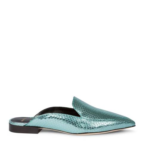 PAUL SMITH Turquoise Celesta Leather Shoe