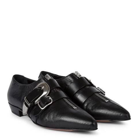 PAUL SMITH Black Wilde Suede Shoe