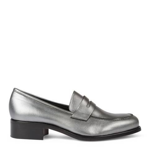 PAUL SMITH Silver Wolf Leather Shoe