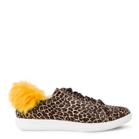 PAUL SMITH Light Beige Lapin Leather Sneaker