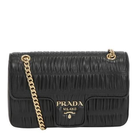 Prada Black Prada Leather Crossbody Bag