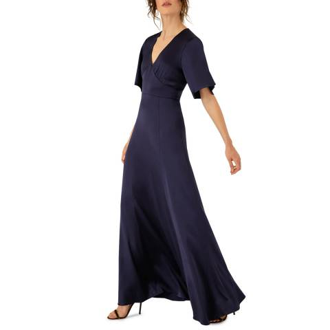 Ivy & Oak Blue Occasion Dress