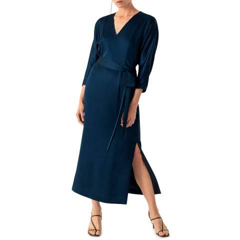 Ivy & Oak Green Midi Kimono Evening Dress