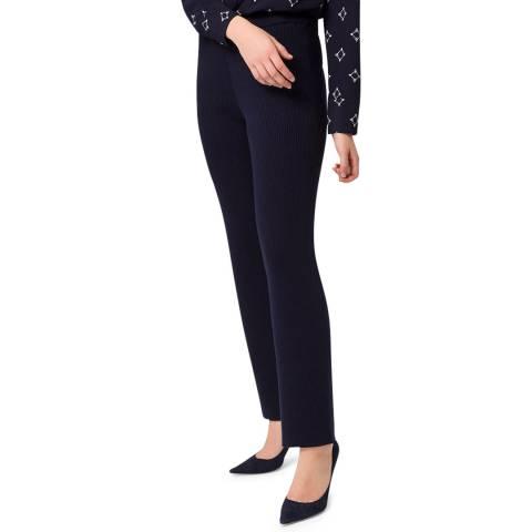 Ivy & Oak Black Wool Blend Knitted Trousers