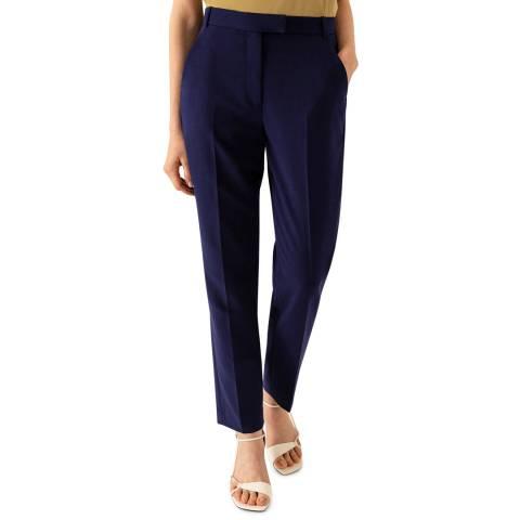 Ivy & Oak Blue Tailored Trousers