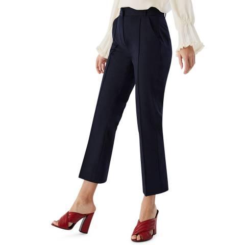 Ivy & Oak Black Cropped Trousers