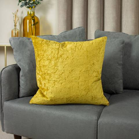Ashley Wilde Kassaro Cushion 50x50cm Dijon