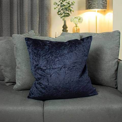 Ashley Wilde Kassaro Cushion 50x50cm Ink