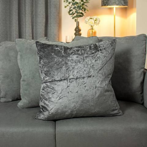 Ashley Wilde Kassaro Cushion 50x50cm Smoke