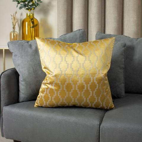 Ashley Wilde Nash Cushion, Antique/Gold