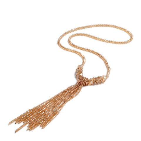 Amrita Singh Gold Shirin Tassel Necklace