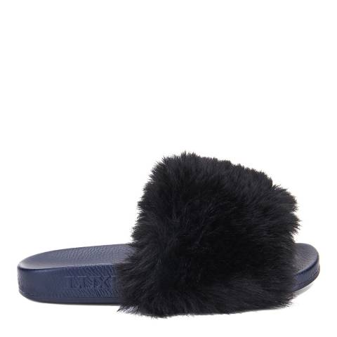 Australia Luxe Collective Black Touche Slipper